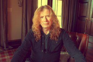 Dave Mustaine fotografie Facebook anunt cancer 2019