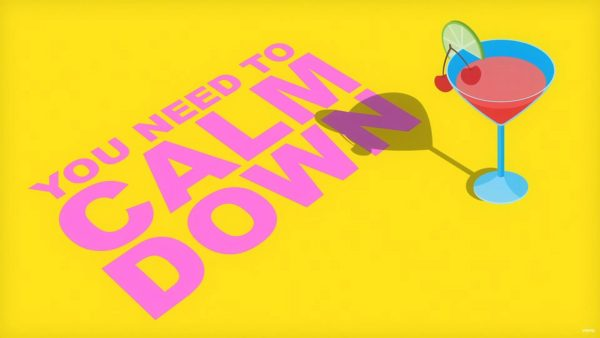 Lyric Video Taylor Swift You Need to Calm Down