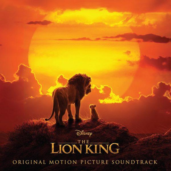 The Lion King 2019 coloana sonora coperta