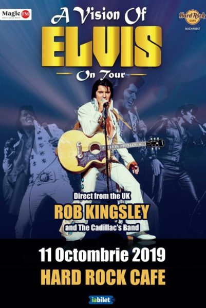 Poster eveniment A Vision of Elvis - Rob Kingsley and The Cadillac\'s Band