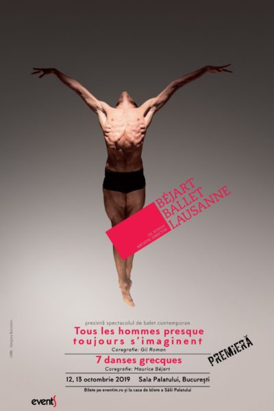 Poster eveniment Béjart Ballet Lausanne