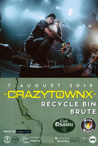 Poster eveniment Crazy Town