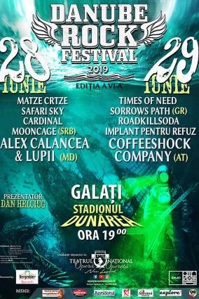 Danube Rock Festival 2019 la Stadionul Dunărea Galati