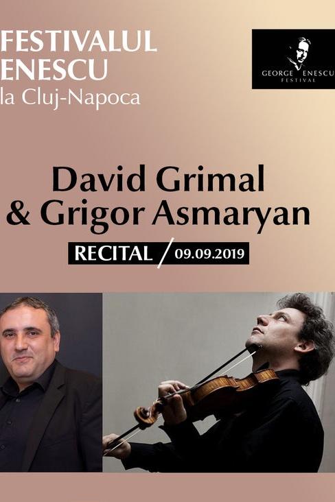 David Grimal & G. Asmaryan la Academia de Muzică