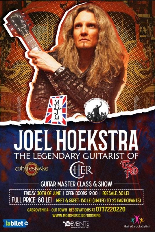 Joel Hoekstra (Whitesnake) - Masterclass la Club Mojo