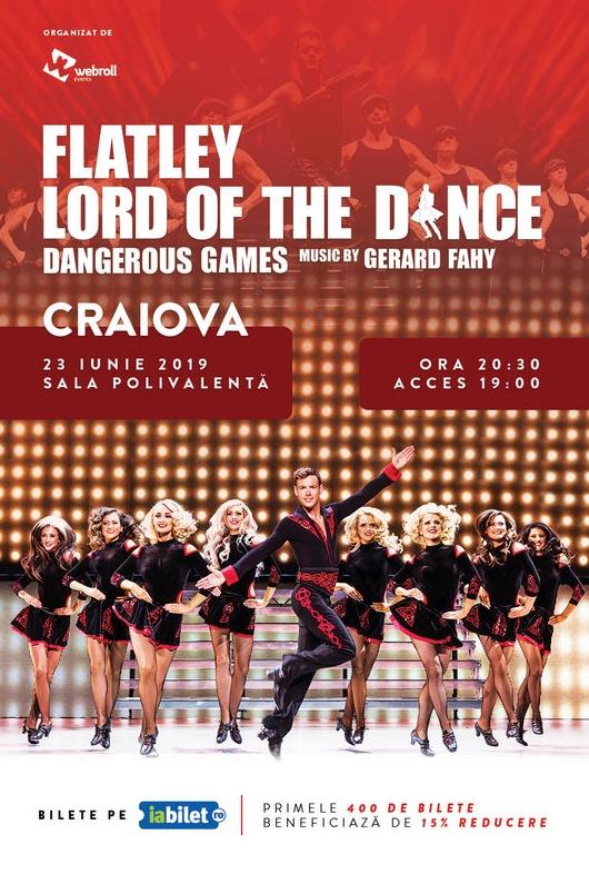 Lord of the Dance - Dangerous Games 2019 la Sala Polivalentă Craiova