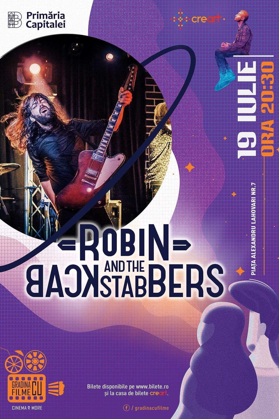 Robin and the Backstabbers la Grădina cu filme