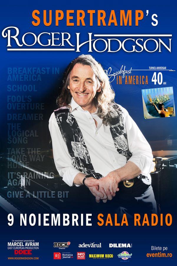 Roger Hodgson la Sala Radio