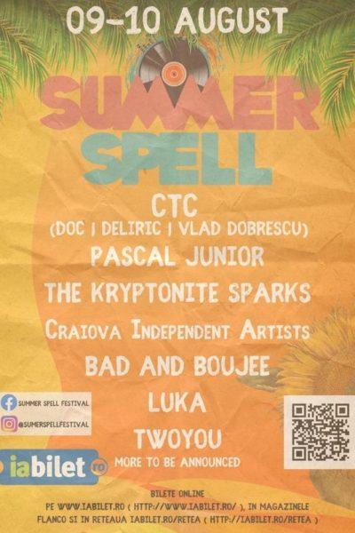 Poster eveniment Summer Spell 2019