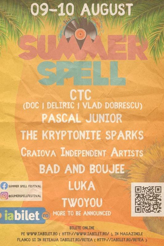 Summer Spell 2019 la Imperial Ballroom (fostul Palat RSR), Podari
