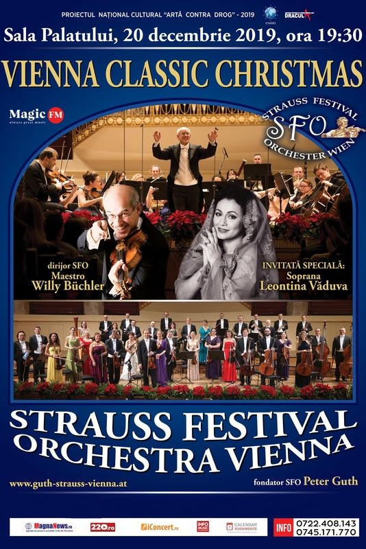 Vienna Classic Christmas 2019 la Sala Palatului