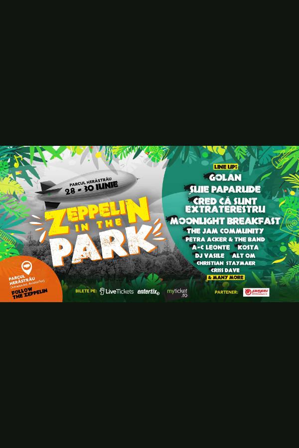 Zeppelin in the Park la Parcul Herăstrău