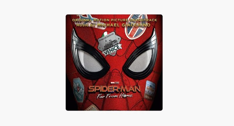 Spiderman Far From Home coloana sonora 2019