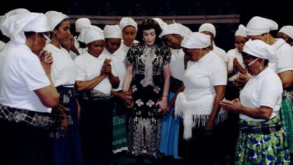 Videoclip Madonna Batuka