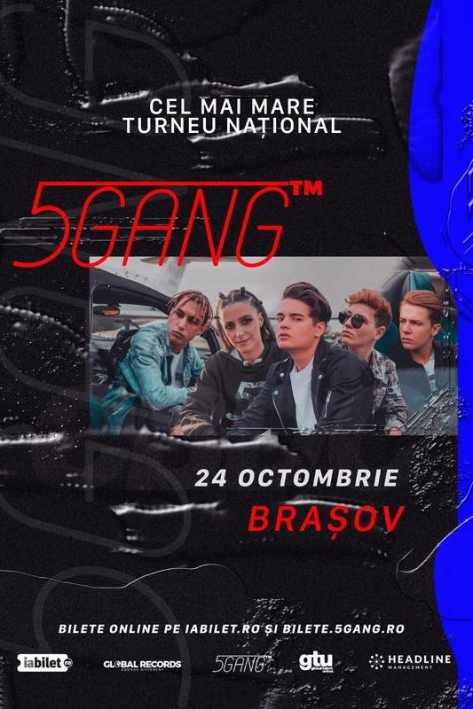 5GANG la Sala Sporturilor Brașov