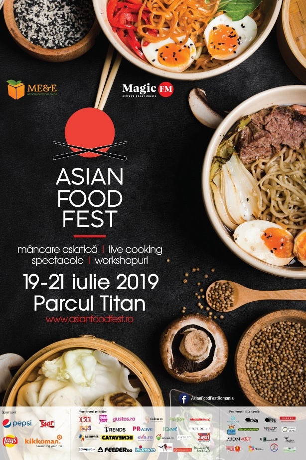 Asian Food Fest 2019 la Parcul Titan