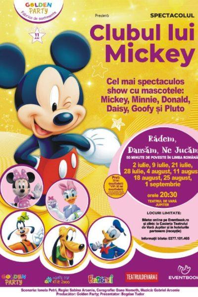 Poster eveniment Clubul lui Mickey