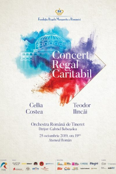 Poster eveniment Concert Caritabil Regal