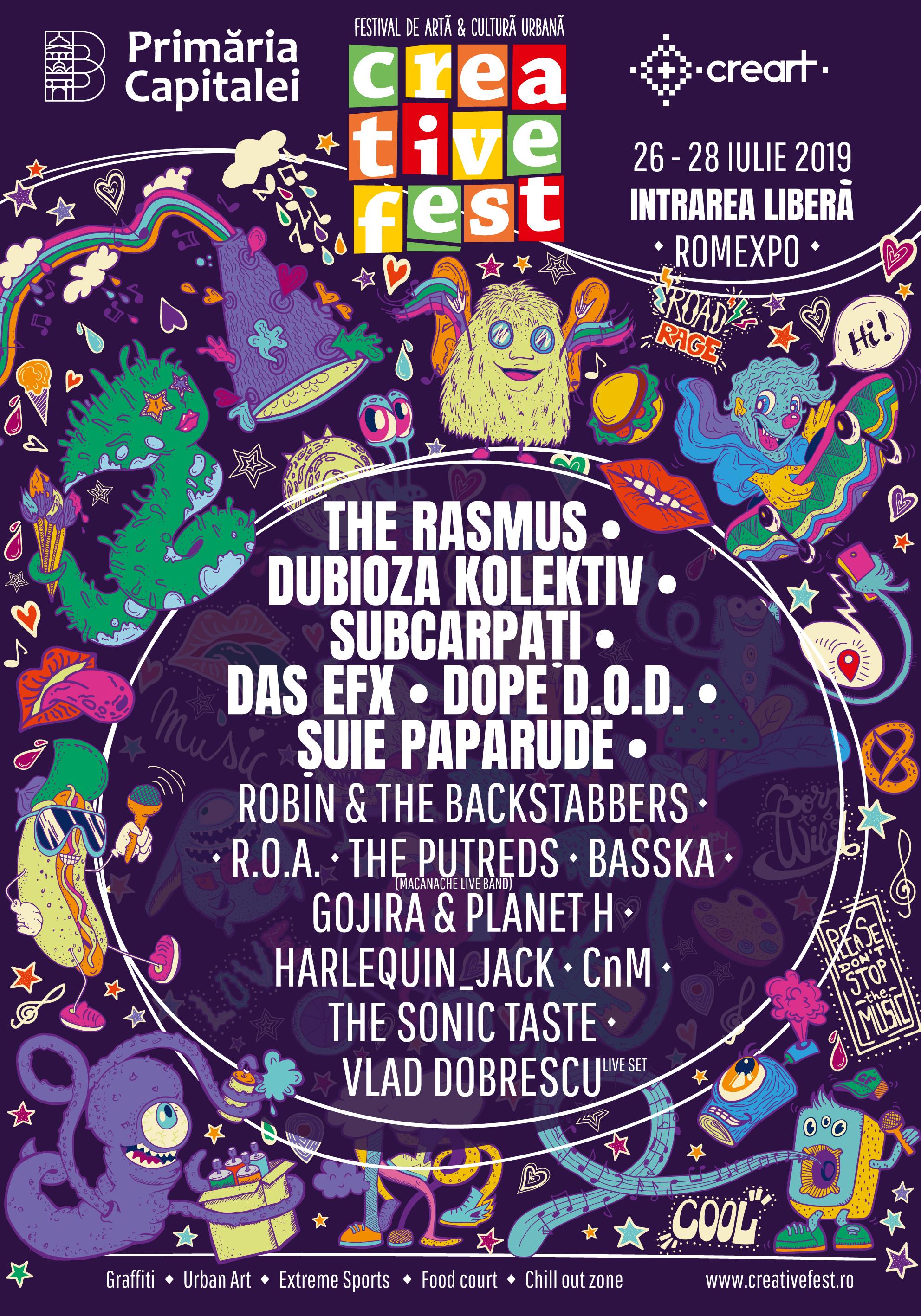 Creative Fest 2019 la Romexpo