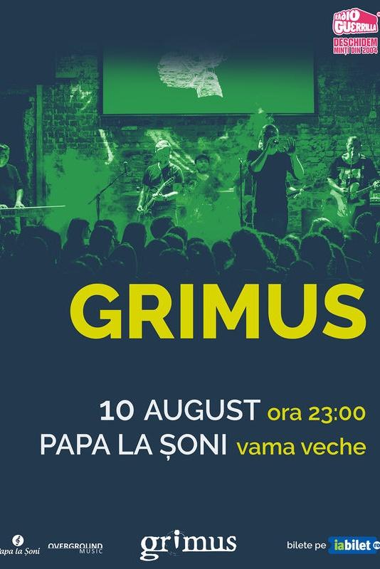 Grimus la Papa la Șoni