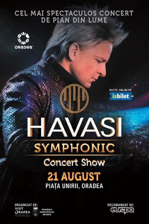 Havasi Symphonic la Piața Unirii din Oradea