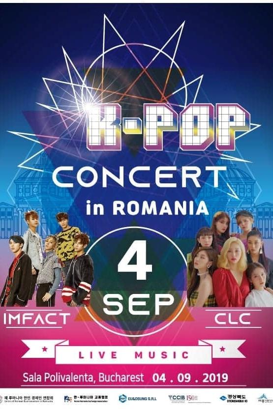 K-POP: IMFACT & CLC la Sala Polivalentă
