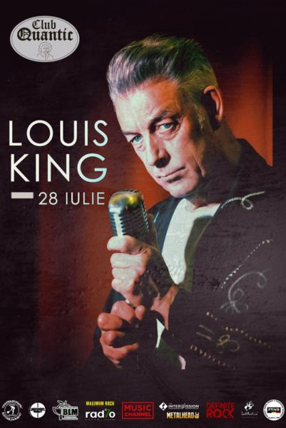 """Poster eveniment Louis King - \""""The King of the Rockin\' Blues\"""""""