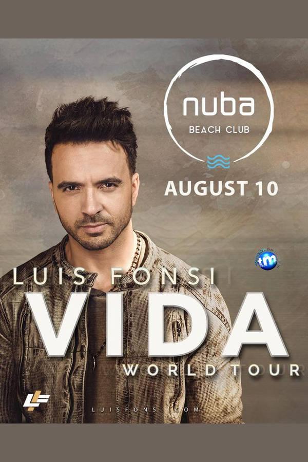 Luis Fonsi la Club Nuba (Constanța)