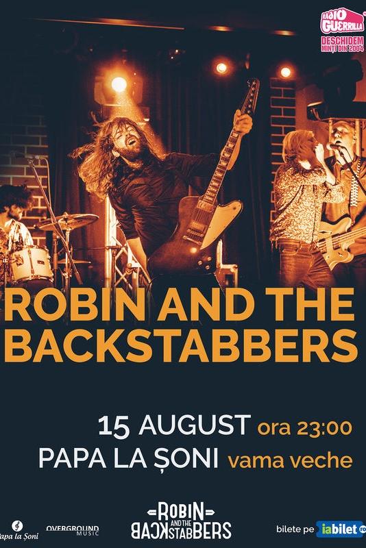 Robin and the Backstabbers la Papa la Șoni