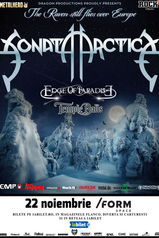 Sonata Arctica la Form Space Club