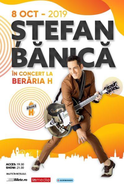 Poster eveniment Ștefan Bănică