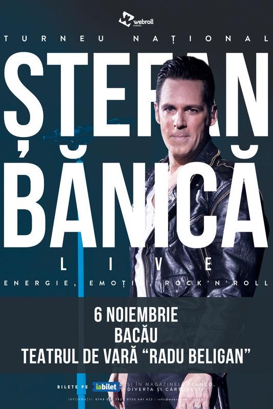 Ștefan Bănică - turneu național la Teatrul de Vară