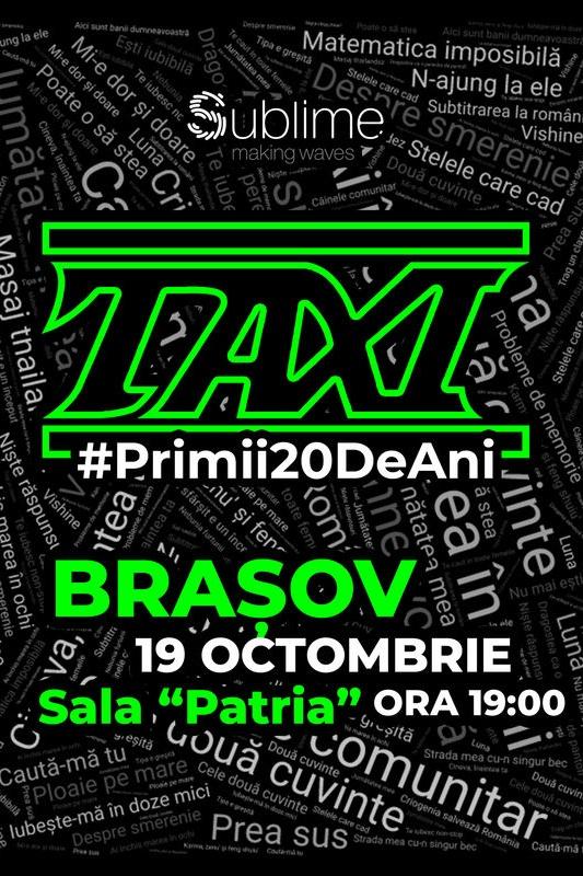 TAXI: Primii 20 de ani la Filarmonica Brașov