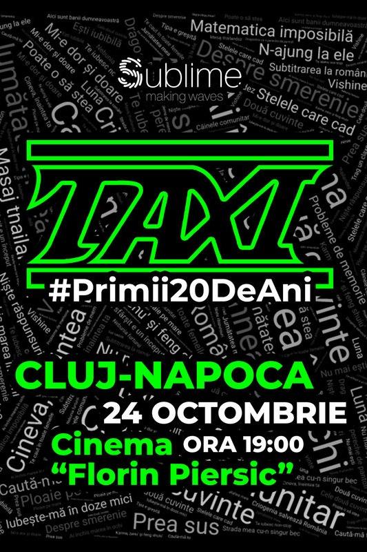 TAXI la Cinema Florin Piersic