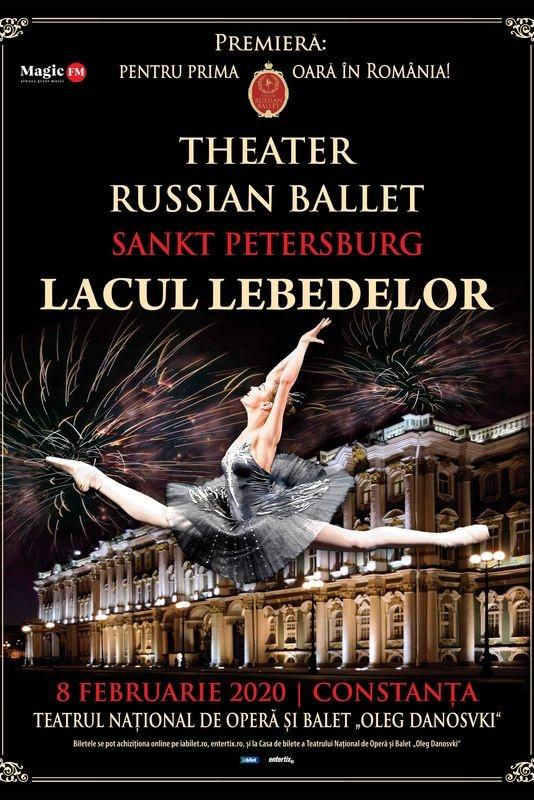 Theatre Russian Ballet - Lacul Lebedelor la Teatrul Național de Operă și Balet Oleg Danovski