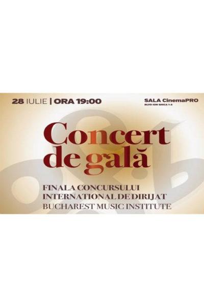 Poster eveniment Concert de Gală - Stagiunea SalutCULTURA 2019