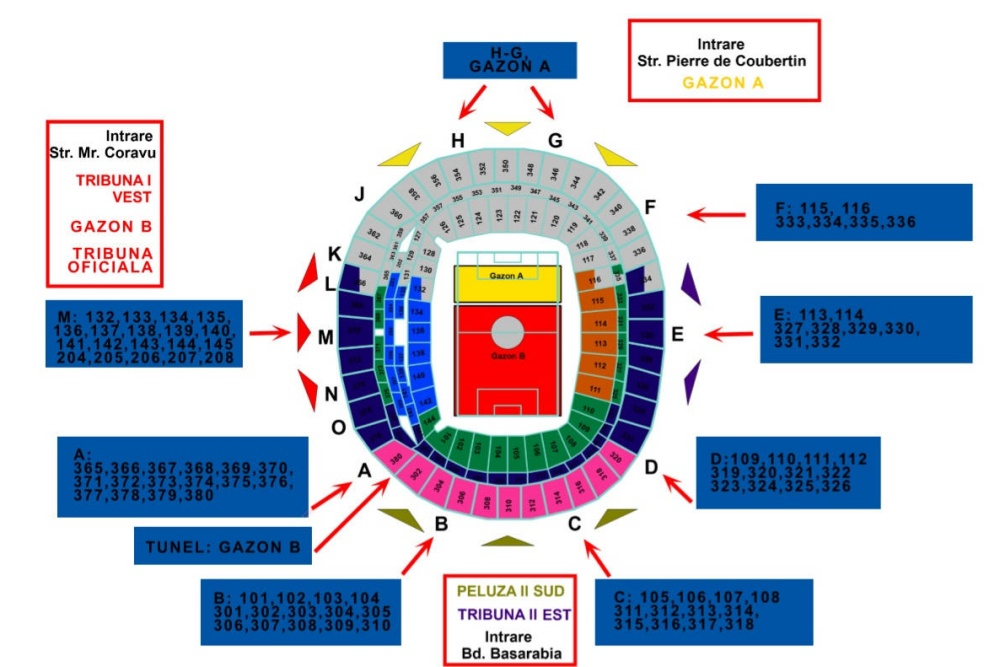 Programul și Regulile De Acces La Concertul Metallica De Pe Arena