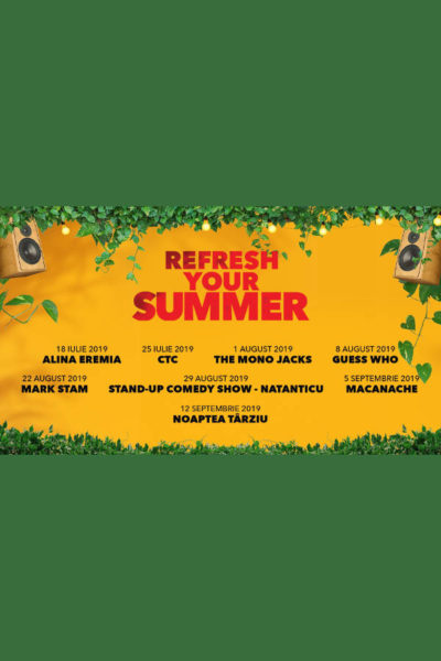 Poster eveniment Refresh your summer
