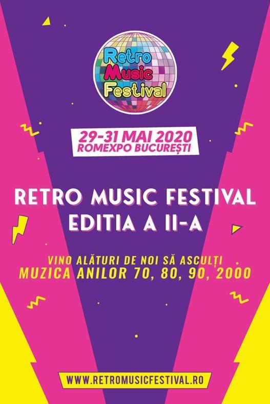 Retro Music Festival 2020 la Romexpo