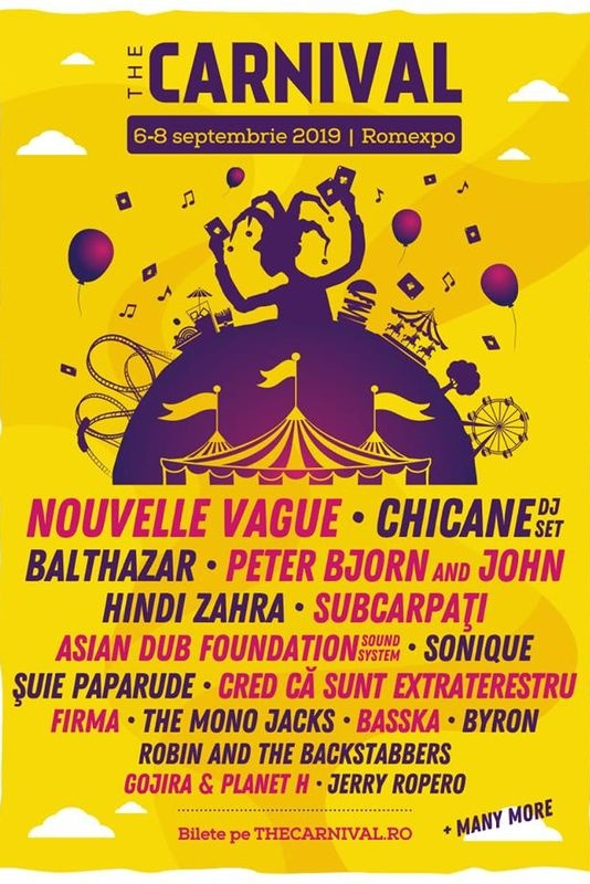 The Carnival București 2019 la Romexpo