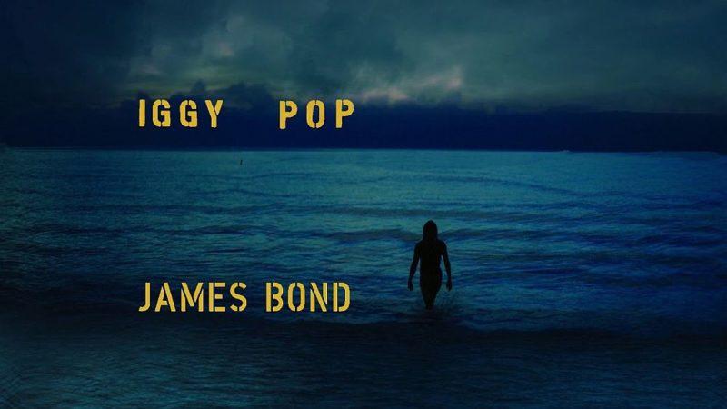 Coperta single Iggy Pop James Bond