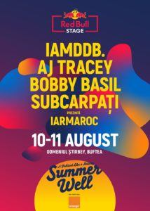Red Bull stage poster Summer Well 2019