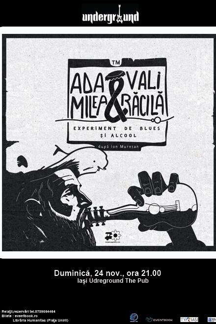 Ada Milea & Vali Răcilă la Underground Pub
