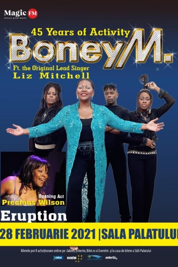 Boney M la Sala Palatului