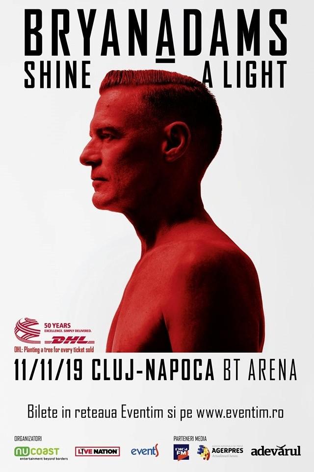 Bryan Adams la BT Arena (Sala Polivalentă) Cluj-Napoca
