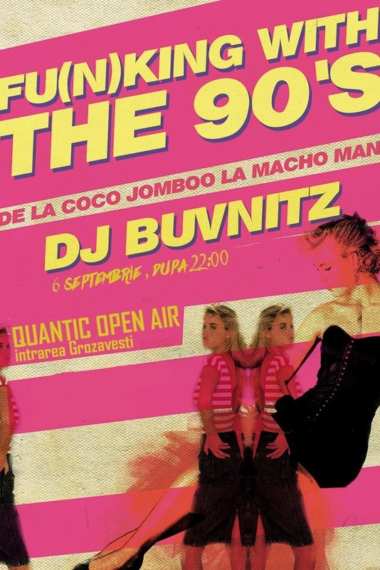Funking With The 90s la Quantic Club