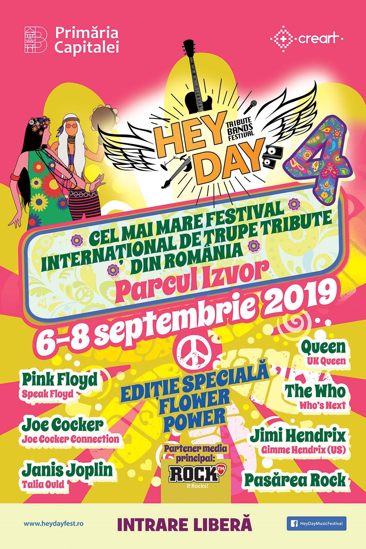 HeyDay Festival 2019 la Parcul Izvor