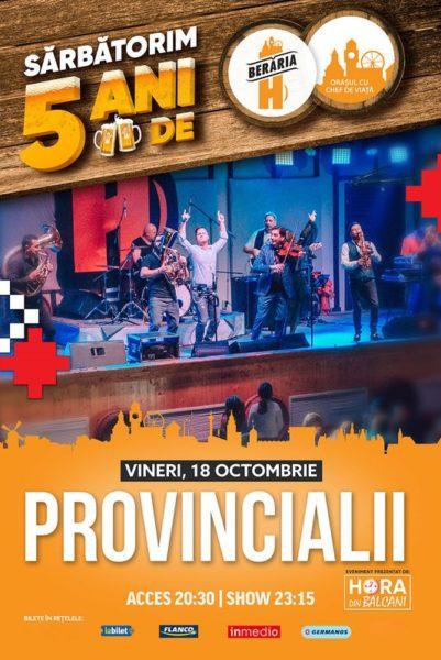 Poster eveniment Provincialii
