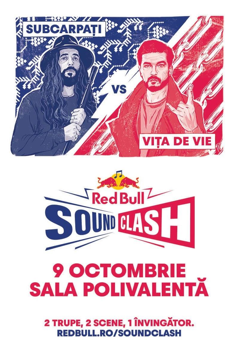 Red Bull Music SoundClash: Subcarpați vs Vița de Vie la Sala Polivalentă