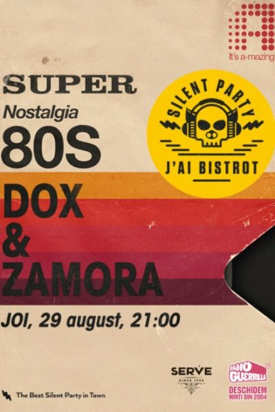 Poster eveniment Super Nostalgia - 80\'s